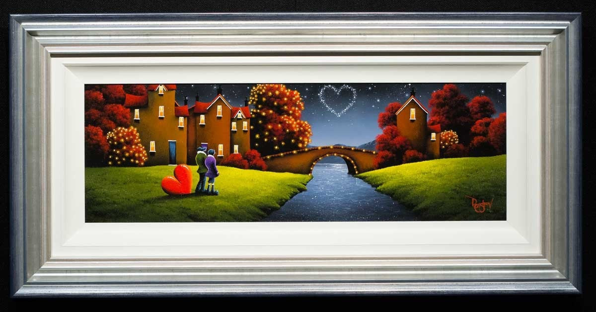 Life, Love, Destiny - SOLD David Renshaw