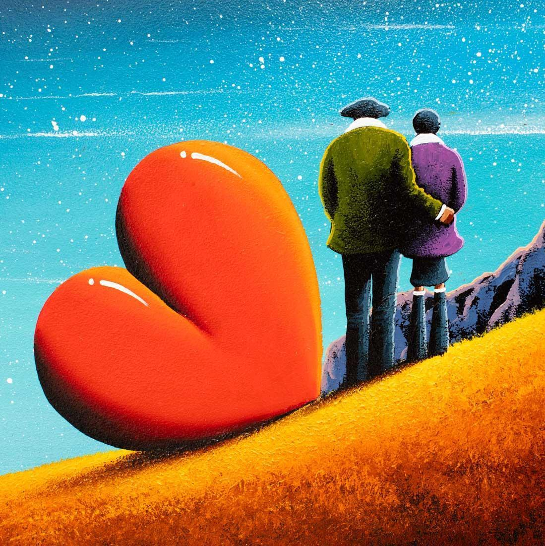 Light of My Life David Renshaw Framed