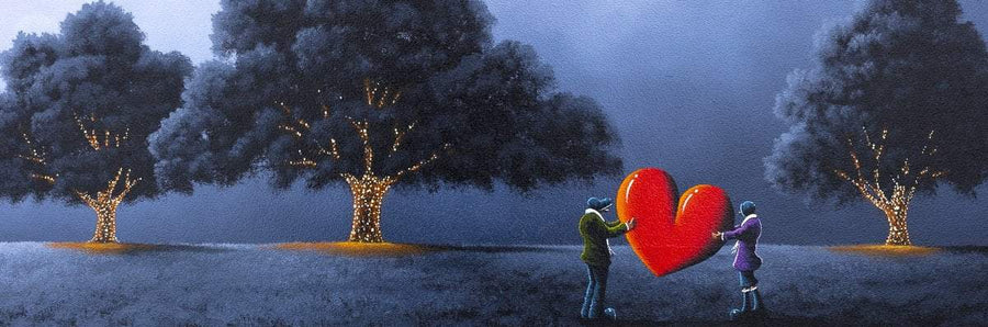 Light Up Our Love - Original David Renshaw Framed