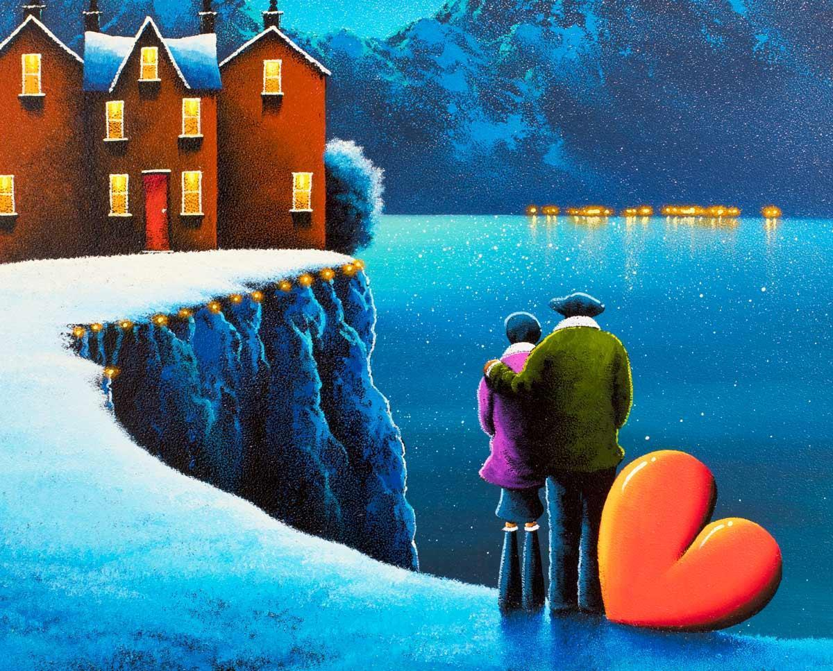 Lights Above - Original David Renshaw