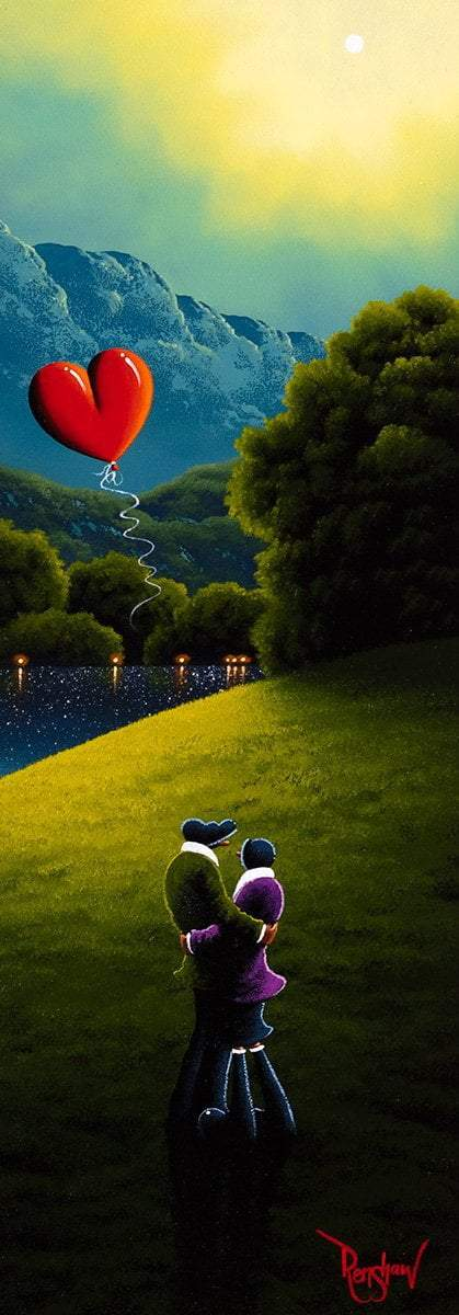 Lost in Your Love David Renshaw Framed