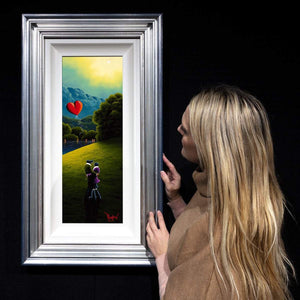Lost in Your Love - Original David Renshaw Framed