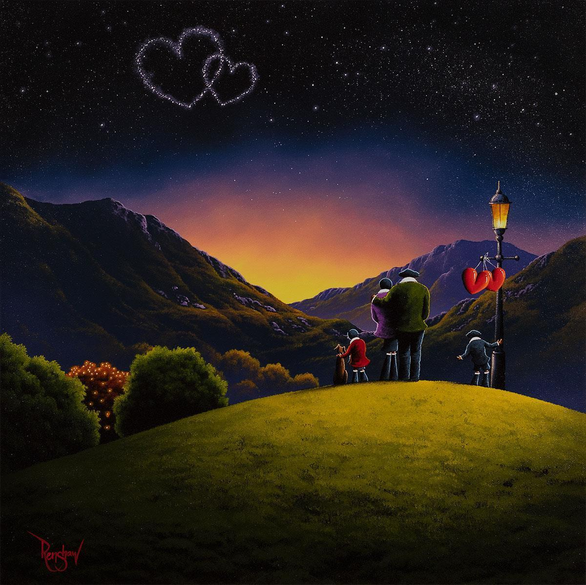 Love Alight David Renshaw Framed
