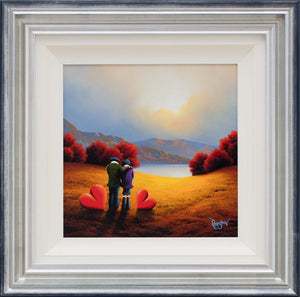 Love at Sunset - SOLD David Renshaw