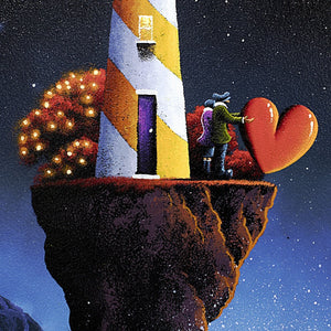 Love at the Lighthouse - SOLD David Renshaw