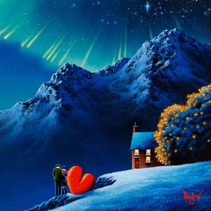 Love by the Mountains David Renshaw Framed