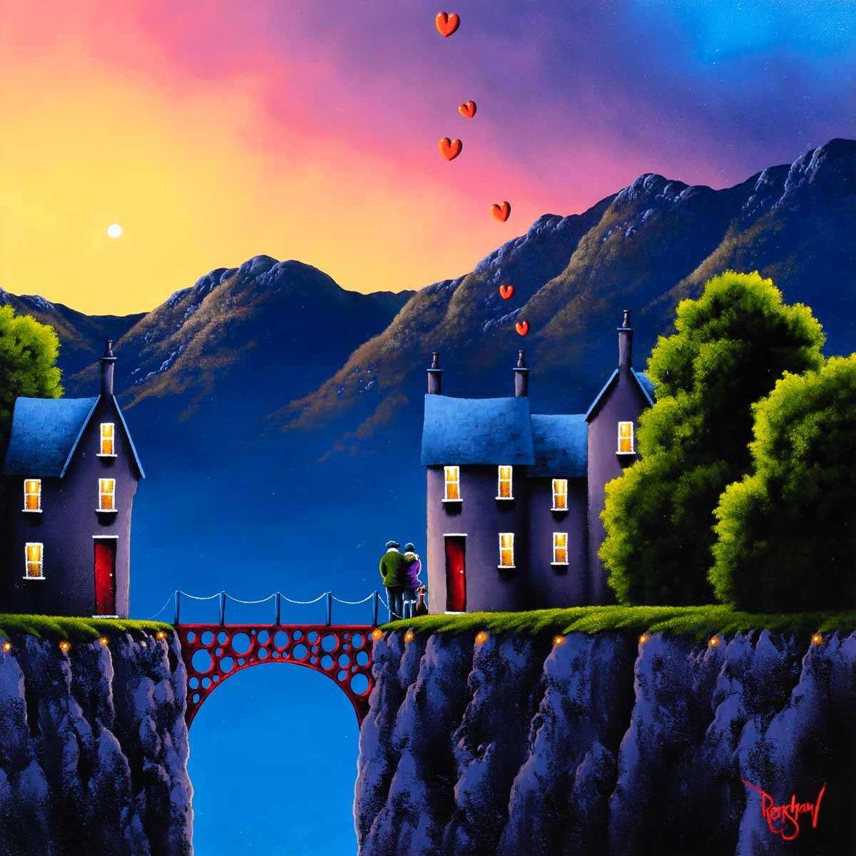 Love Connection David Renshaw Framed