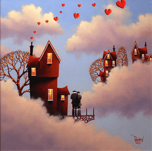 Love in the Clouds - SOLD David Renshaw