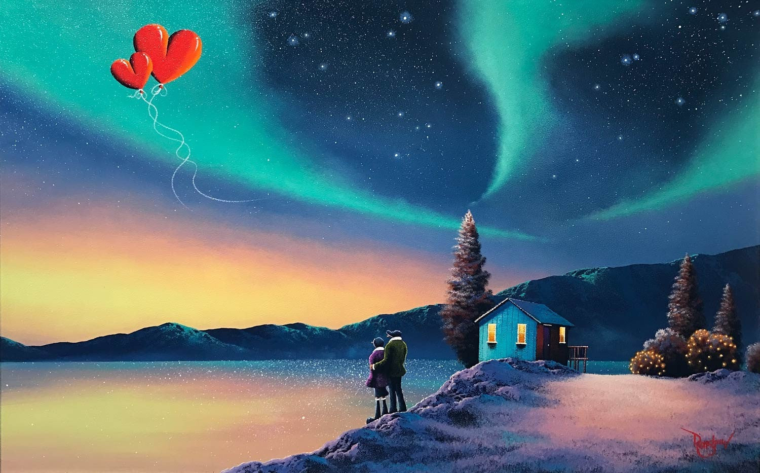 Love in the North - SOLD David Renshaw