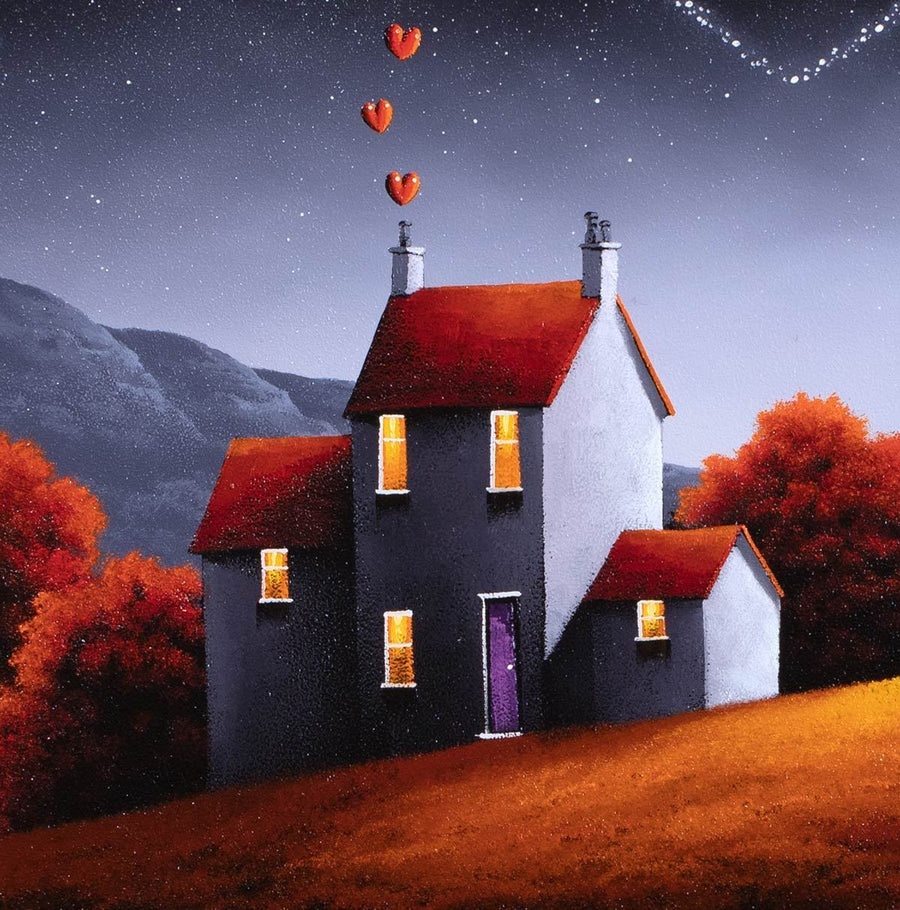 Love is in the Air David Renshaw Framed