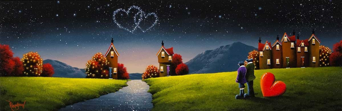 Love Is In The Stars - SOLD David Renshaw