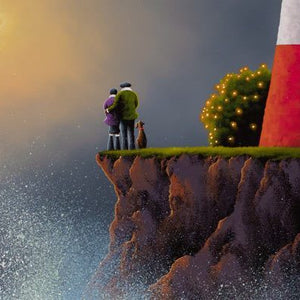 Love Is On The Way - Original David Renshaw Framed