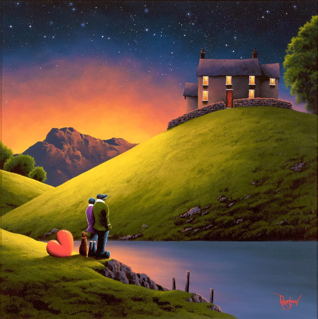 Love Lake - Original David Renshaw