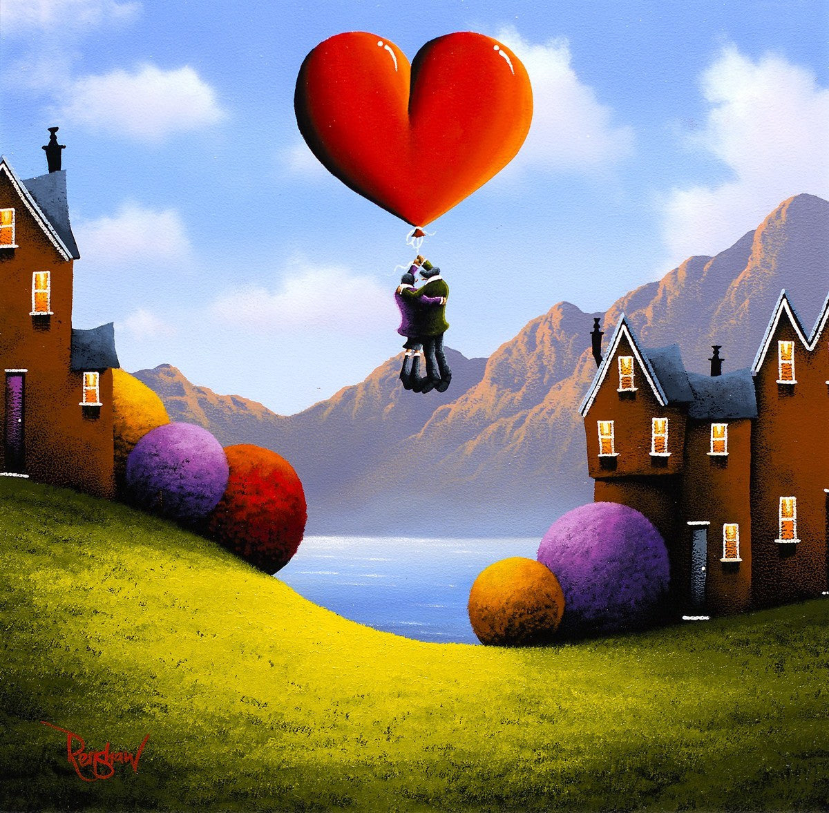 Love Lift Us Up - SOLD David Renshaw