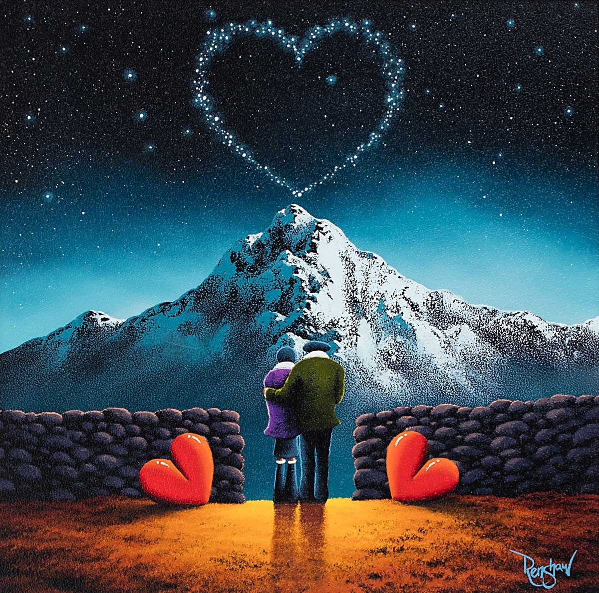 Love Mountain - SOLD David Renshaw