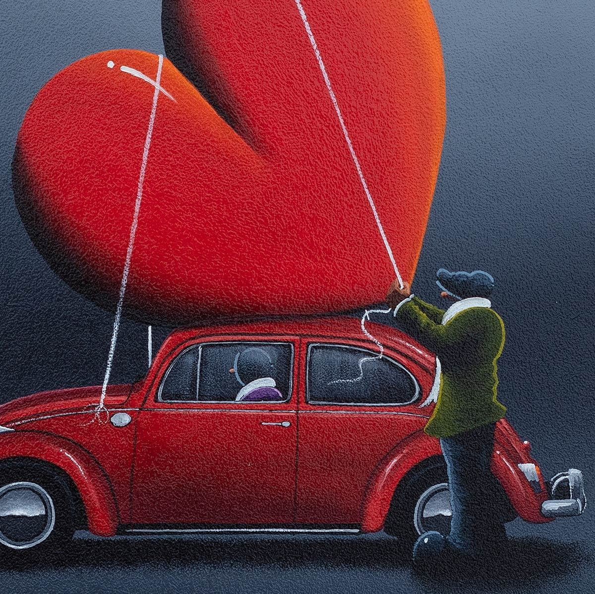 Love On The Go David Renshaw Framed