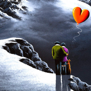 Love on the Mountaintops - Original David Renshaw Framed