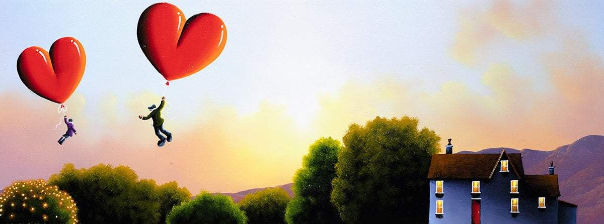 Love Takes Us Higher - Original David Renshaw Framed