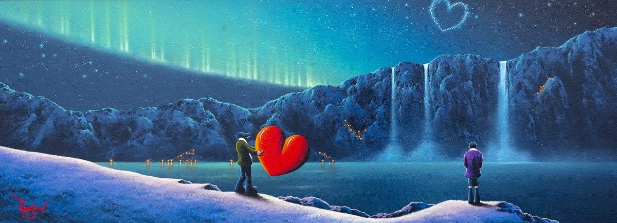 Love Under The Northern Lights - Original - SOLD