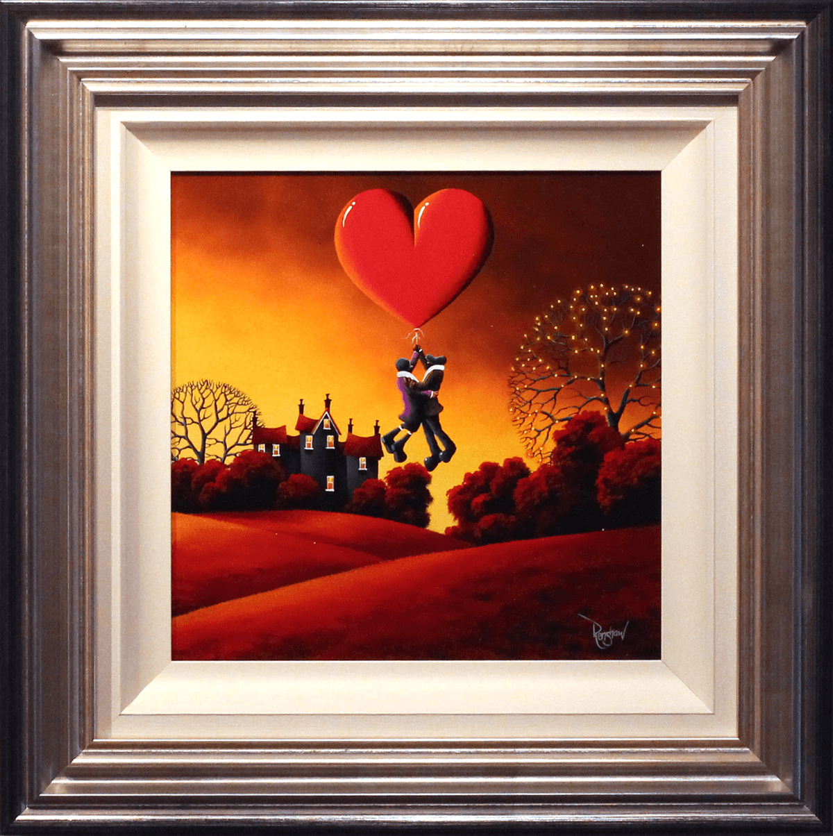 Love Will Lift Us Up - SOLD David Renshaw