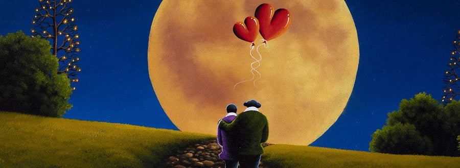 Love You To The Moon And Back David Renshaw Framed