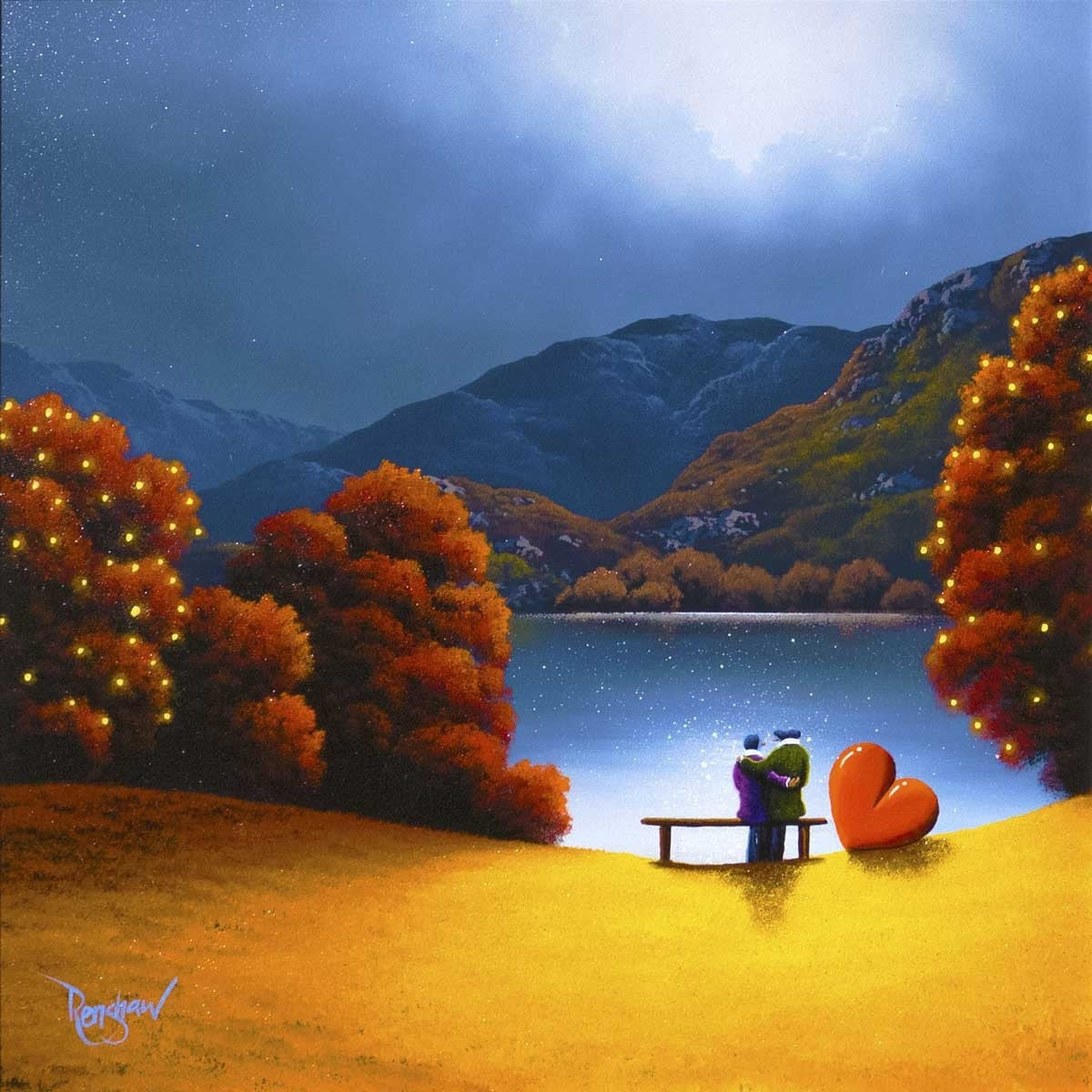 Lover's Lake - SOLD David Renshaw