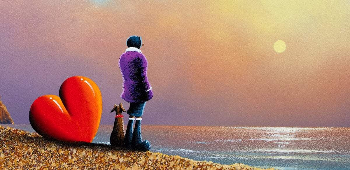 Lovers Cove - Original David Renshaw Framed
