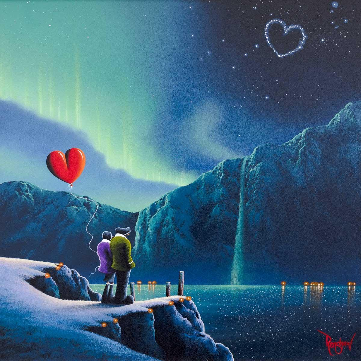 Lovers Lake David Renshaw Framed