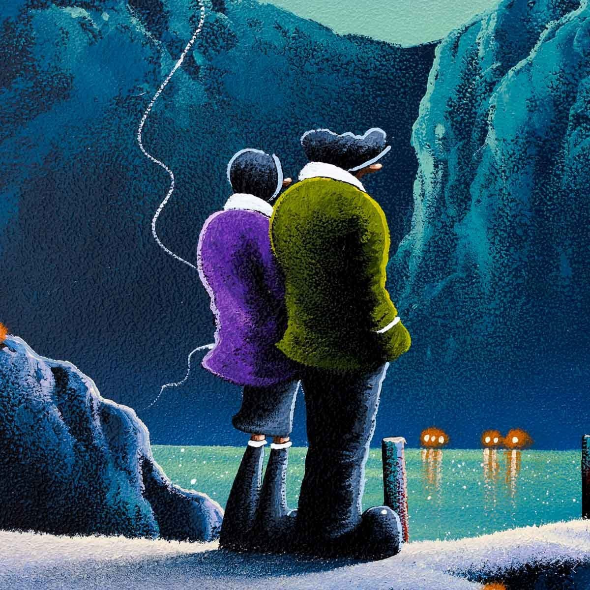 Lovers Lake - Original David Renshaw Framed