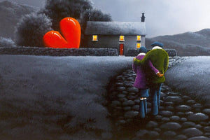 Lovers Lane - Original - SOLD David Renshaw