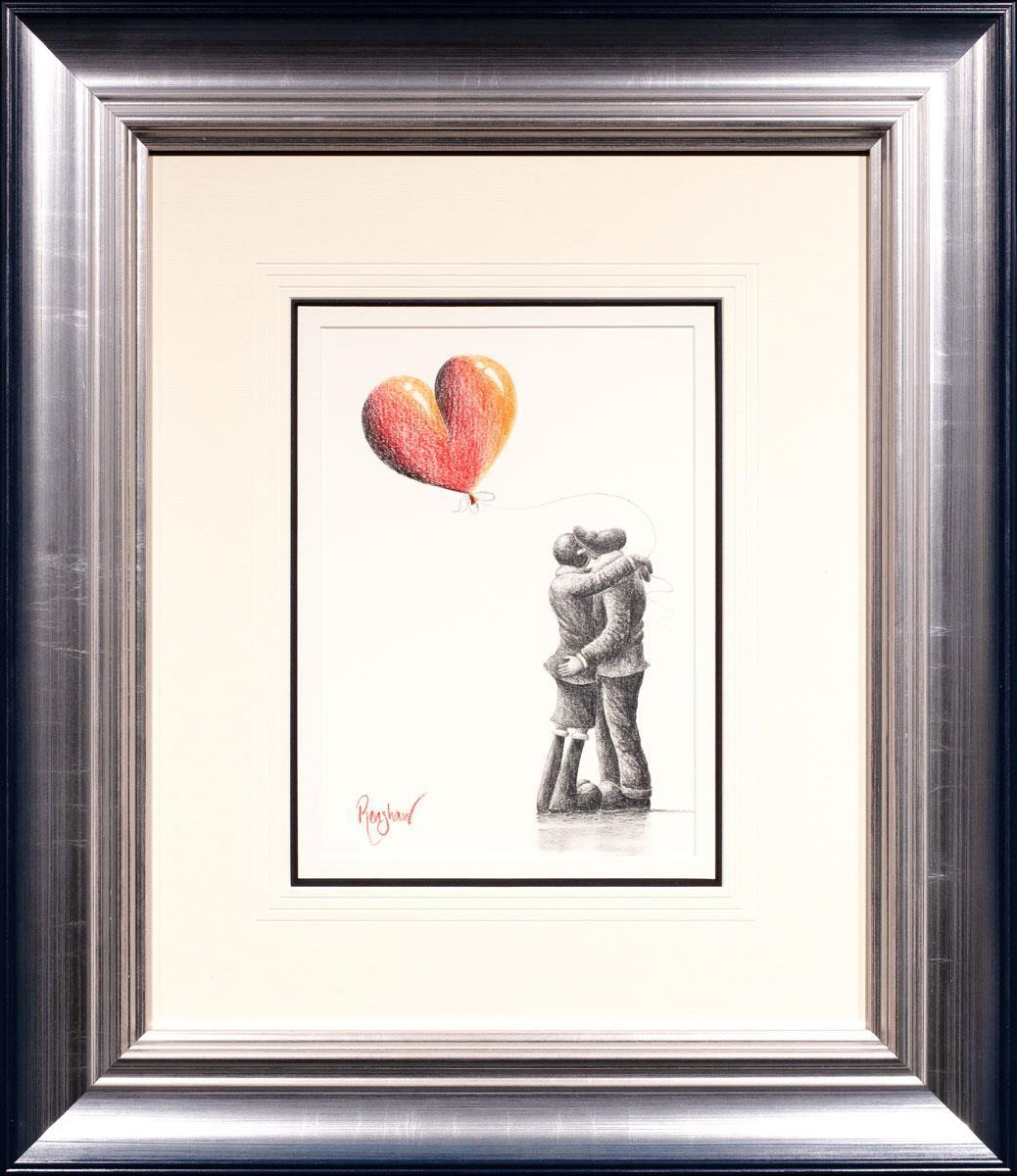 Loving Embrace David Renshaw Framed