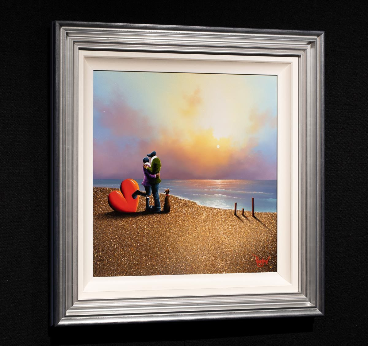 Loving Every Moment - Original David Renshaw Framed