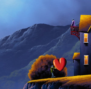 Mad For You - Original David Renshaw Framed