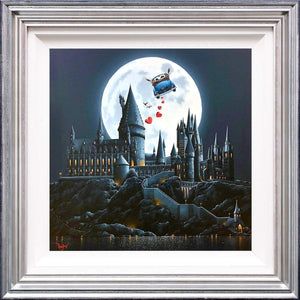 Magic in the Moonlight - Original David Renshaw Framed