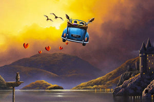 Mischief and Magic - Original - SOLD David Renshaw Framed