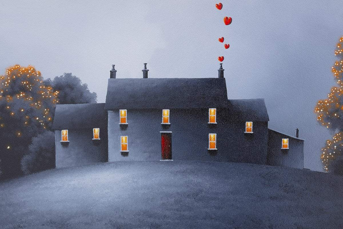 Moments With You - Original David Renshaw Framed