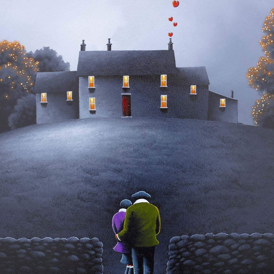 Moments With You David Renshaw Framed