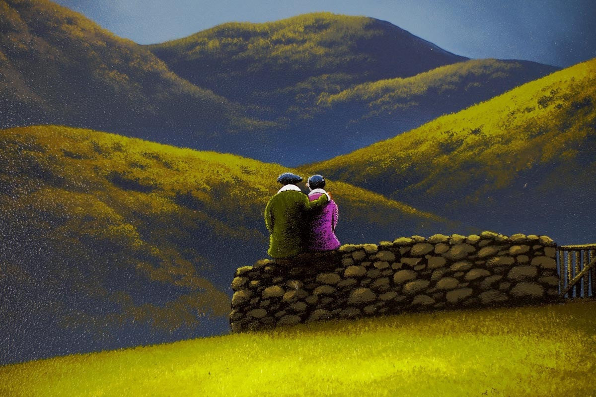 Moon Gazing David Renshaw