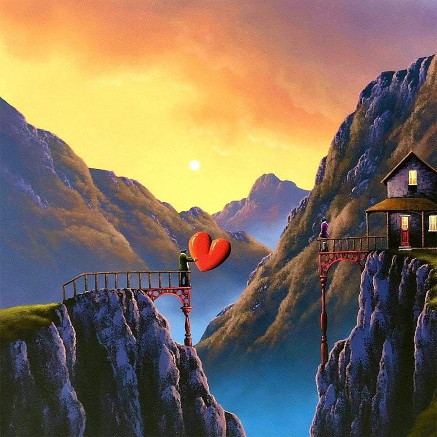 Mountain Dwelling - Original David Renshaw Framed