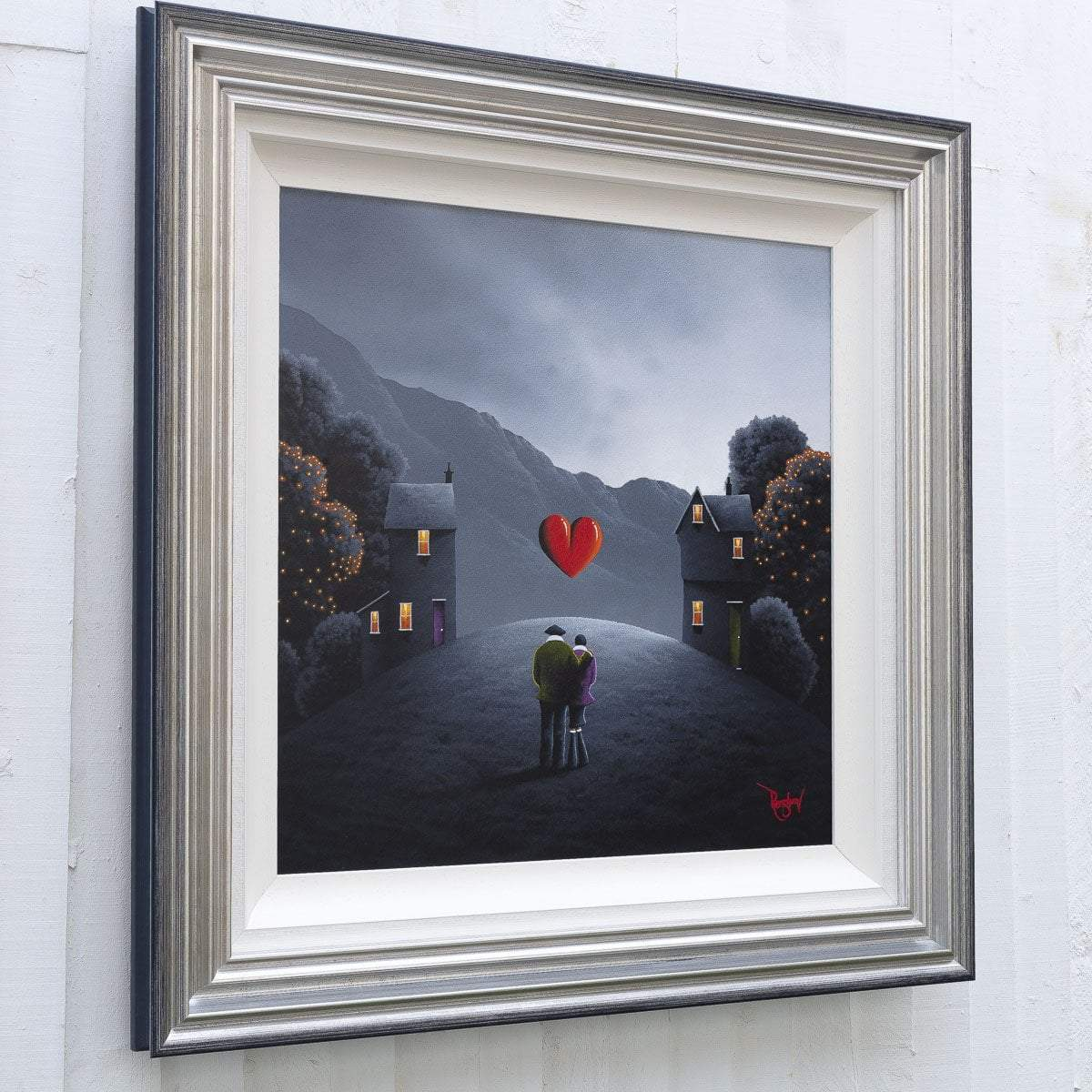 Mountain Mist - Original David Renshaw Framed