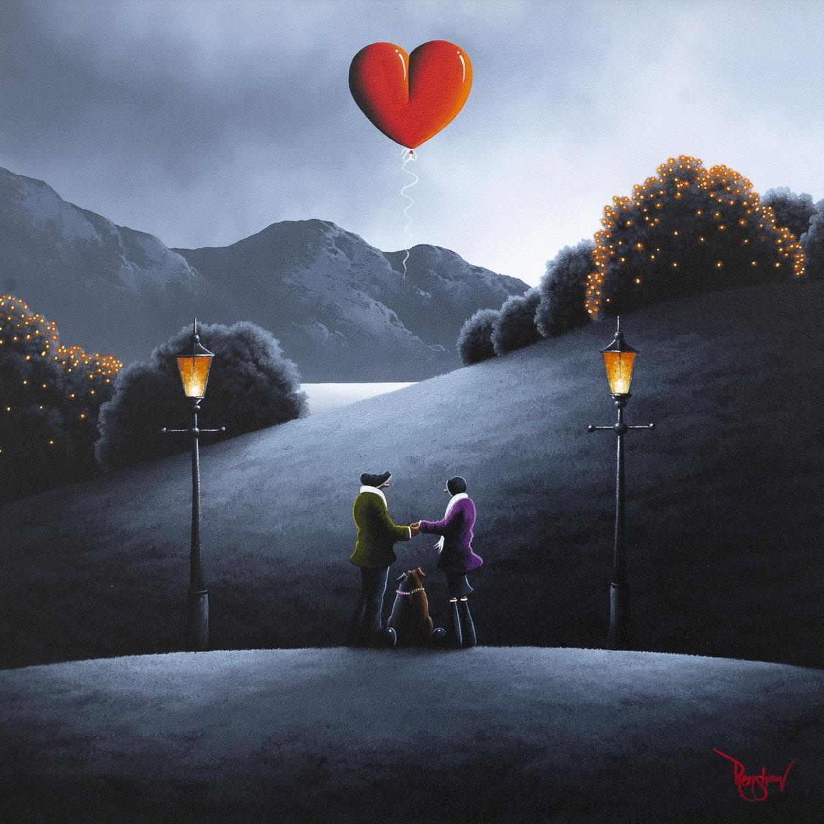 My Guiding Light David Renshaw Framed