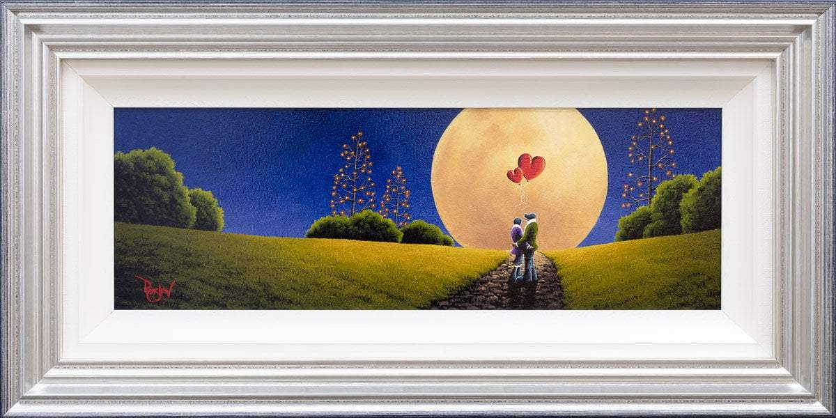New Moon - Original David Renshaw Framed