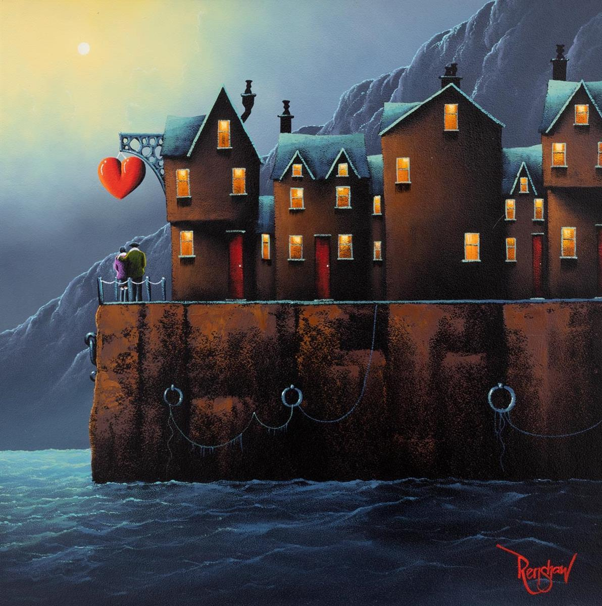 Night Harbour David Renshaw
