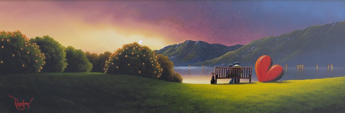 No Place I'd Rather Be David Renshaw Framed