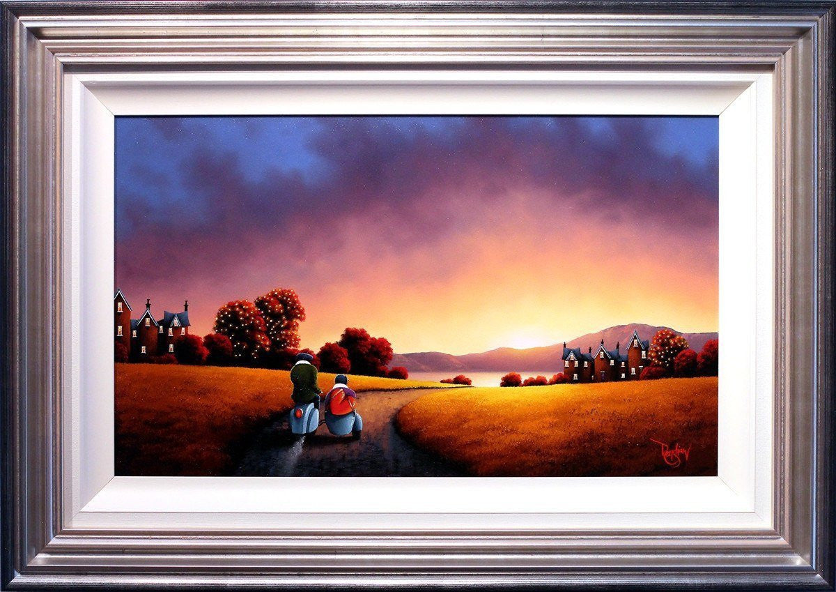 Off Into The Sunset - SOLD David Renshaw