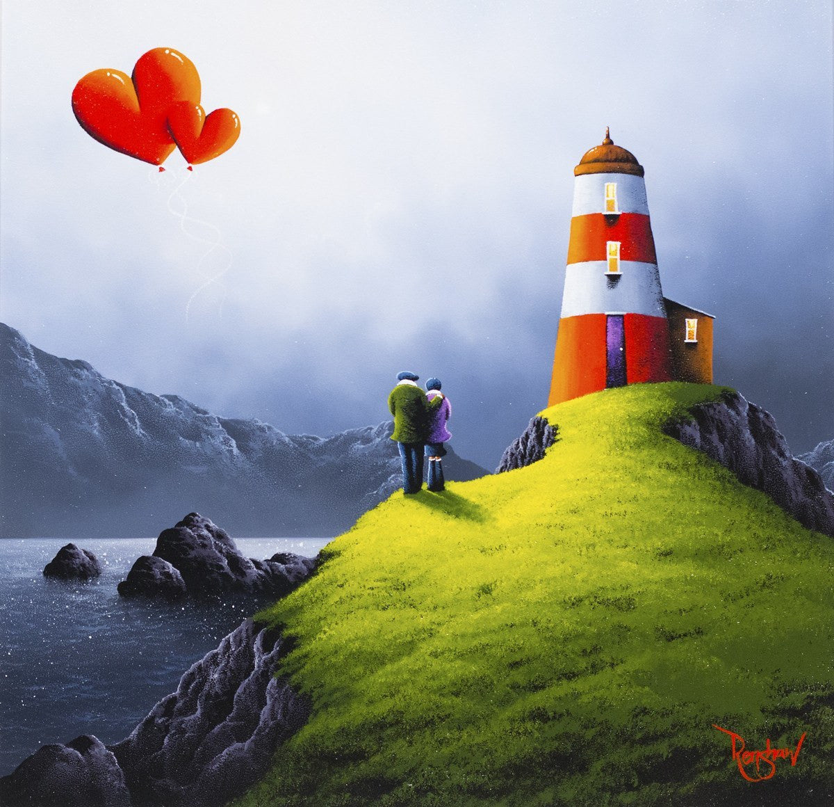 On the Horizon - SOLD David Renshaw