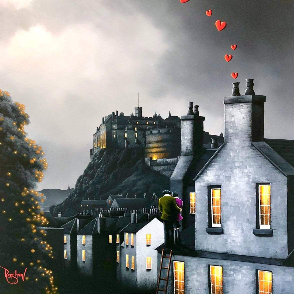 Our Edinburgh David Renshaw Framed