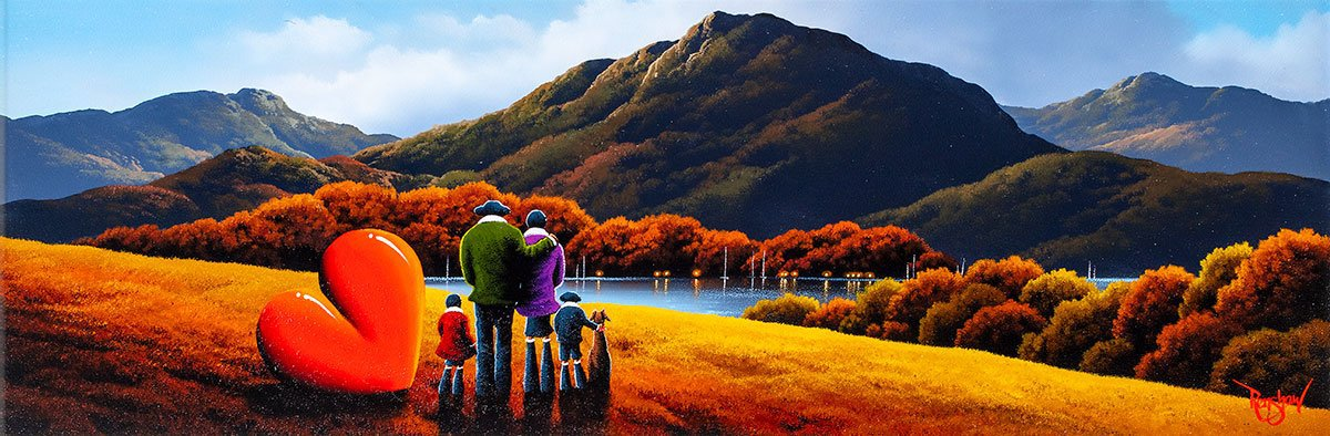 Our Family - Original David Renshaw Framed