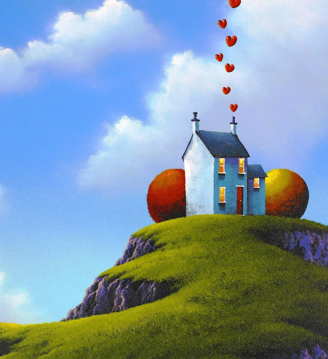 Our Happy Home - SOLD David Renshaw