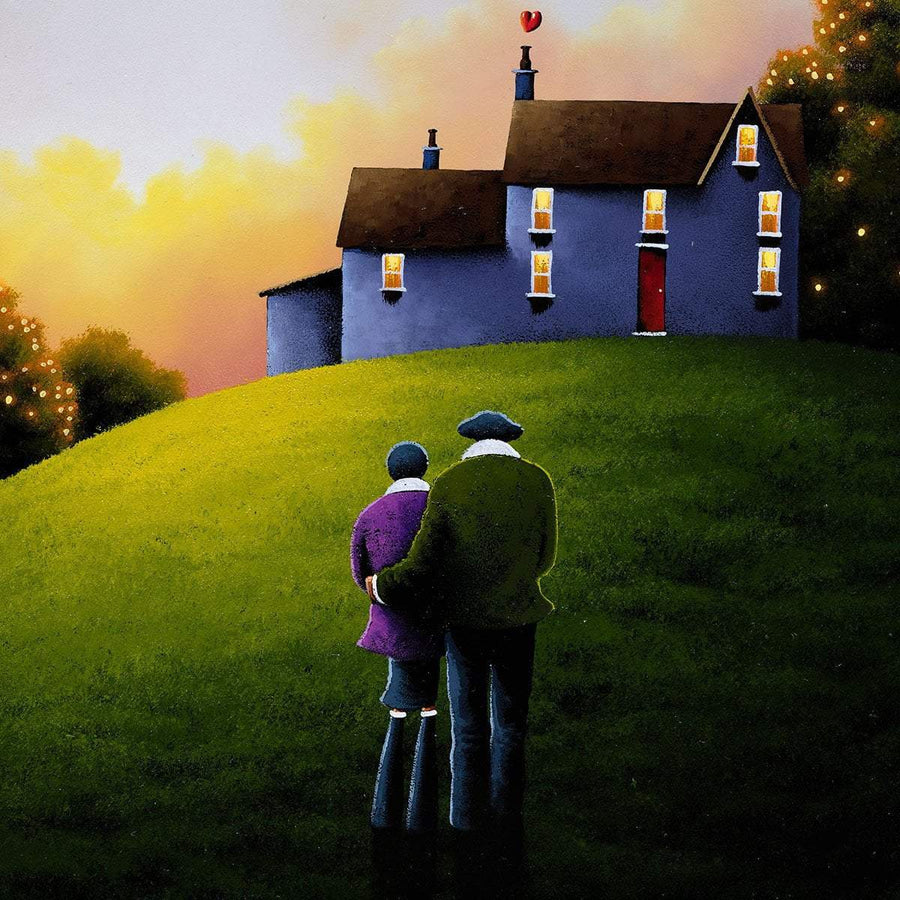 Our Home, Together - Original David Renshaw Framed